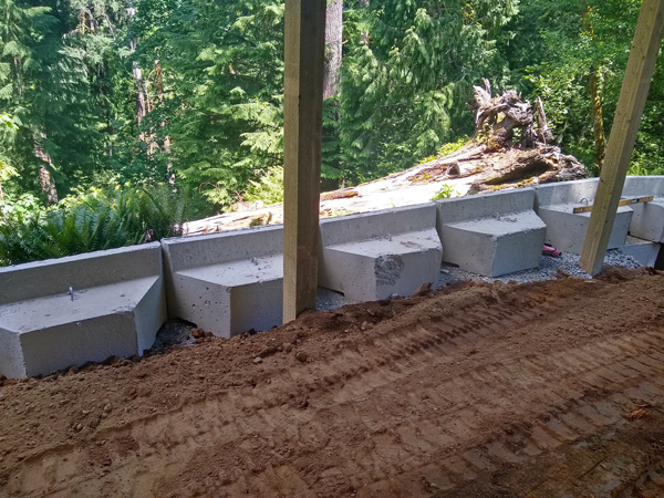 Retaining Wall with Eco Blocks